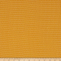 Telio Pebble Crepe Small Dots Mustard White