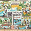 Trans-Pacific Textiles Hawaii Classic Surftown Beige
