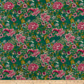 Numero 21 Italian Designer Digital Print Cotton Green/Pink/Blue