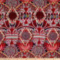Etro Italian Designer Digital Print Viscose Red/Navy/Gold/White