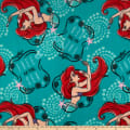 Disney Ariel Fleece Toss Teal