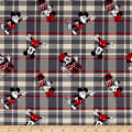 Disney Mickey and Minnie Plaid Red