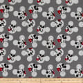 Disney Mickey Traditional Mickey Head Toss Gray