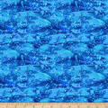 Paintbrush Studio Fabulous Flamingos Blue Water Bubbles
