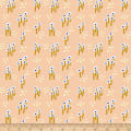 Paintbrush Studios Garden Glory Abstract Mushrooms White/Peach