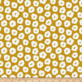 Paintbrush Studios Garden Glory Abstract Blossoms White/Gold
