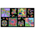 "Wilmington Rainbow Flight 24"" Craft Panel Multi"