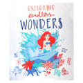 "The Little Mermaid Endless Wonders 36"" Panel White"