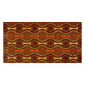 Supreme African Wax Print 6 Yards Orange