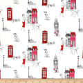 101 Dalmations London Town Toile White
