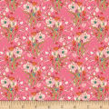Art Gallery Bloomsbury Rosette Square Knit Pink