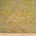 Batik by Mirah Firenze Leaves Wheat Cream
