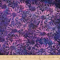 Batik by Mirah Firenze Florals Dancing Purple Florals