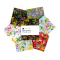 Whistler Studios Splotch Fat Quarter Bundle Multi 6 Pcs