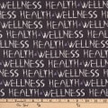 Windham Health & Wellness Text Charcoal
