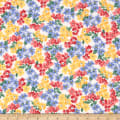 Windham Fabrics Pemberley Flannel Small Floral Cream