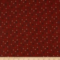American Rustic Tiny Stars Red