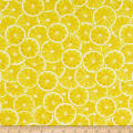 Kanvas Lemon Fresh Citris Slices Lemon Yellow