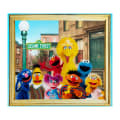 "EXCLUSIVE Sesame Street Digital Characters 36"" Panel Multi"