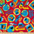 EXCLUSIVE Sesame Street Digital Characters Cookie Monster Toss Red