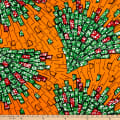 Shawn Pahwa African Print Bekebeke Orange/Green