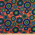 Shawn Pahwa African Print Bhekabantu Orange/Purple