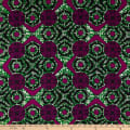 Shawn Pahwa African Print Duduzile Green/Purple
