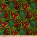 Shawn Pahwa African Print Sthembiso Turquoise/Green