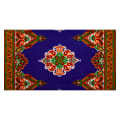 Shawn Pahwa African Print Siza Royal Blue/Gold