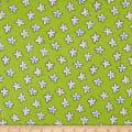 Bella Twill Prints Starfish on Green