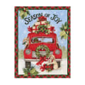 "Susan Winget Season Of Joy Truck 37"" Panel Multi"