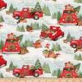 Susan Winget Home For Christmas Red Truck Multi