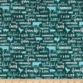 Contempo Farm Sweet Farm Chalkboard Teal