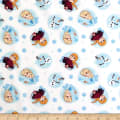 Disney Frozen Alpine Wonder Frozen Snowflakes White