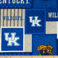 NCAA- Kentucky Wildcats College Patch Fleece