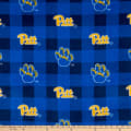 NCAA Pittsburgh Panthers Buffalo Plaid Fleece