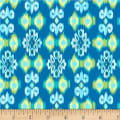 Michael Miller Boho Boutique Small Ikat Teal