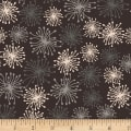 Stoffabric Denmark Blooming Garden Blow Flowers Grey