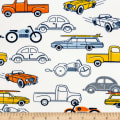 Exclusive Shannon Premier Prints Digital Minky Cuddle Car Show Retro