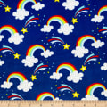 Exclusive Shannon Studio Digital Minky Cuddle Double Rainbows Royal