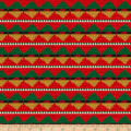 Baxter Mill Santa Fe Christmas Aztec Inspired Stripe Multi