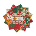 "Baxter Mill Santa Fe Christmas 42pc 5"" Squares Multi"