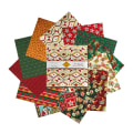 "Baxter Mill Santa Fe Christmas 42pc 10"" Squares Multi"