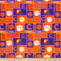 NCAA Clemson Tigers Box Minky