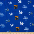 NCAA Kentucky Wildcats Tossed Logo Minky