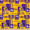 NCAA Louisiana State Tigers Box Minky