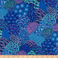 Kaffe Fassett Fall 2012 Collective Oriental Trees Blue