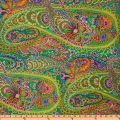 Kaffe Fassett Paisley Jungle Green