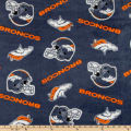 NFL Fleece Denver Broncos Blue/Orange
