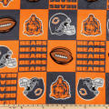 NFL Fleece Chicago Bears Squares Orange